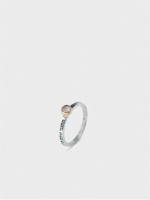 """""""Charm and confidence"""" ring"""