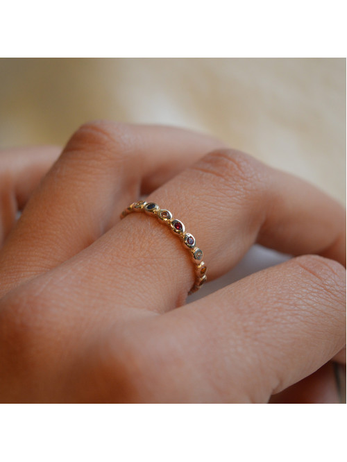 """""""The power of the 12 stones"""" ring"""