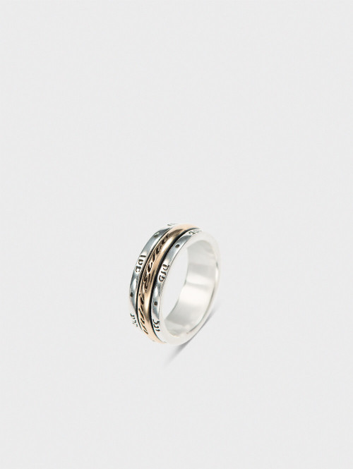 """""""Give me strength"""" ring"""